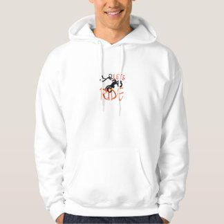 lets ride hoodie
