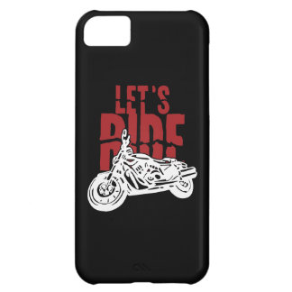 Lets Ride Motorcycle Design iPhone 5C Cases