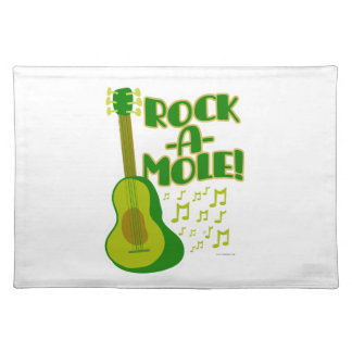Lets Rock-A-Mole Placemat