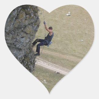 Let's rock it... heart sticker