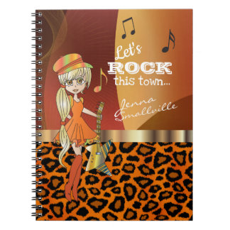 Let's Rock this Town - Autograph Signature Notebook