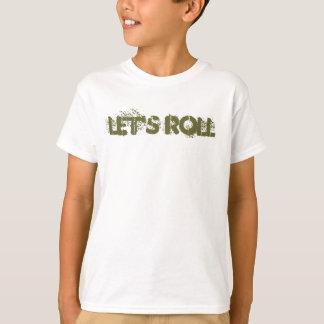 Let's Roll Boys Tee