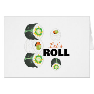Lets Roll Card