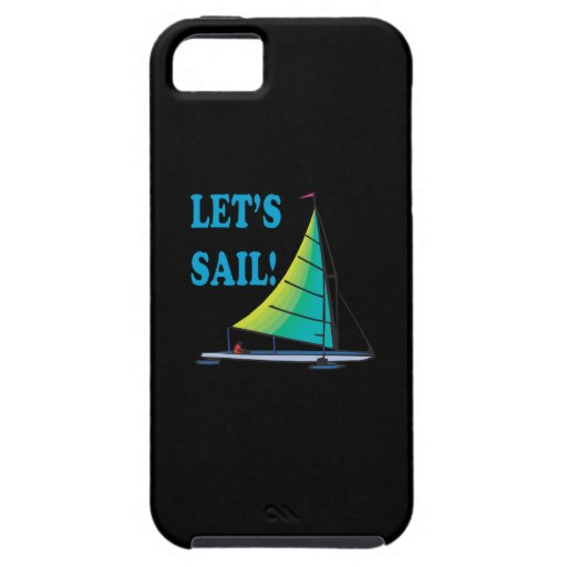 Lets Sail iPhone 5 Covers