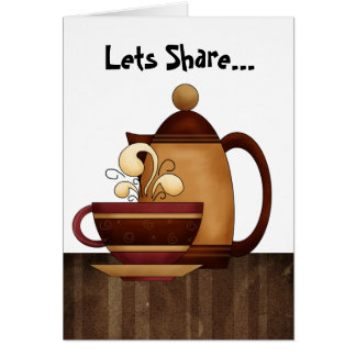 Lets Share... Card