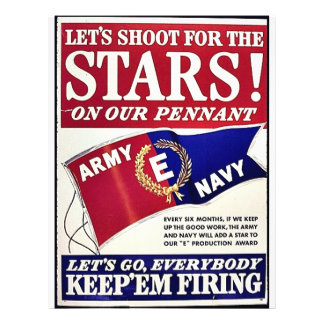 Let's Shoot For The Stars On Our Pennant 21.5 Cm X 28 Cm Flyer