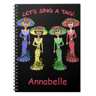 Let's Sing a Tag 2 Spiral Notebook
