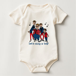 Let's Sing a Tag Baby Bodysuit