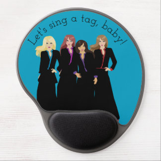 Let's Sing a Tag Baby Gel Mouse Pad