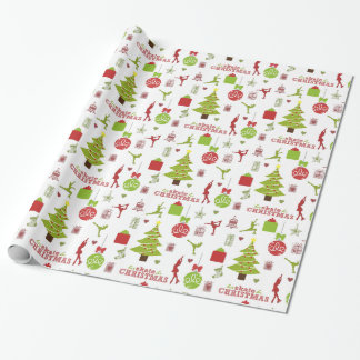 Lets Skate for Christmas Wrapping Paper