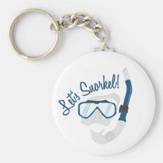 Let's Snorkel! Key Ring