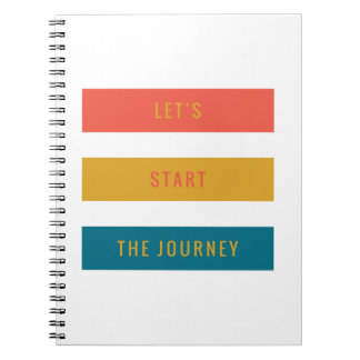 Lets Start.PNG Spiral Note Book