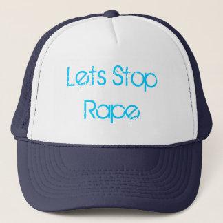 Lets Stop Rape Hat
