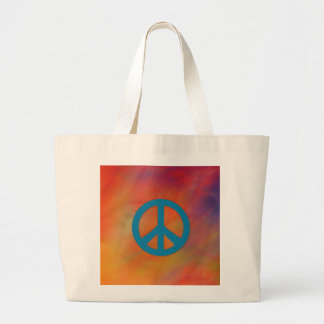Let's Stop the War Large Tote Bag