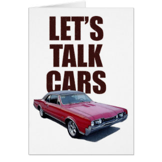 Let's Talk Cars 442 Card