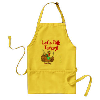 Let's Talk Turkey! Thanksgiving Holiday Apron