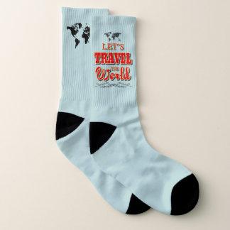 Let's travel the world socks