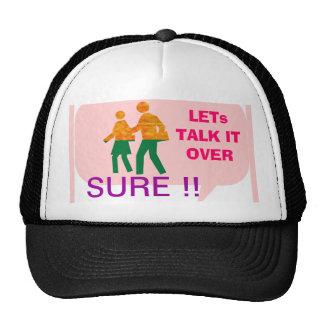 LETs WALK - Bubble Talk Trucker Hat