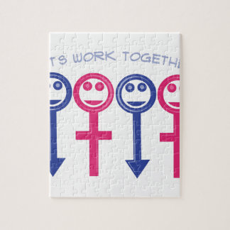 Let's Work Together Puzzles