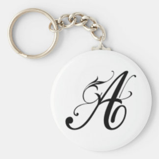 Letter-A-1 Key Ring