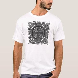 letter a-d-mirror-leaf-black-white T-Shirt