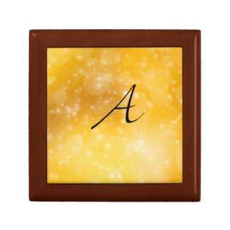 Letter A Jewelry Box
