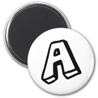 Letter A Fridge Magnet