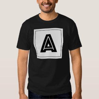 Letter A Monogram | Simple, Modern, Minimal Shirts