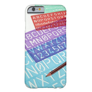 Letter and number templates barely there iPhone 6 case