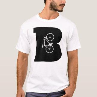 Letter B Biking Bikers Cycling Graphic Design T-Shirt