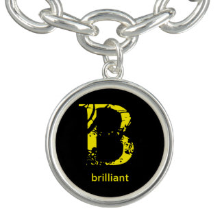 letter B  key chain meaning brilliant