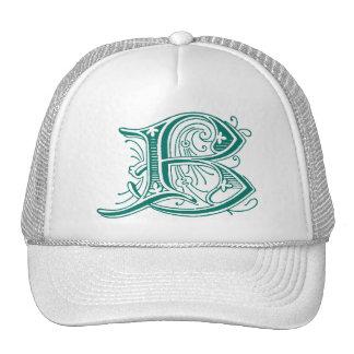 Letter B Monogram Cap