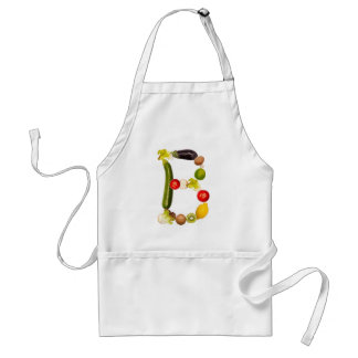 "letter ""B"" of fruits and vegetables Standard Apron"