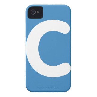 Letter C emoji Twitter iPhone 4 Case-Mate Cases