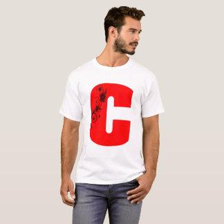 Letter C Flower T-Shirt