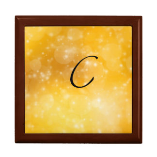 Letter C Large Square Gift Box