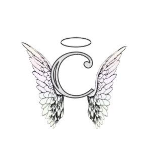 Angel Wings With Halo Wall Clocks Zazzlecomau