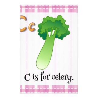 Letter C Customised Stationery