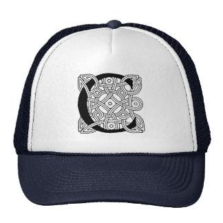 Letter C Vintage Celtic Knot Monogram Trucker Hat