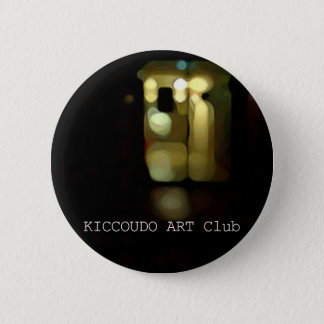 Letter can badge. 6 cm round badge