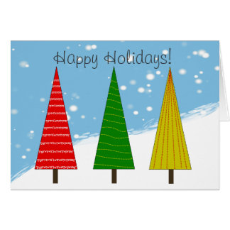 """Letter Carrier Christmas Cards """"Happy Holidays"""""""