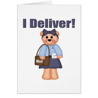Letter Carrier Greeting Card