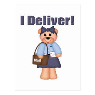 Letter Carrier Postcard