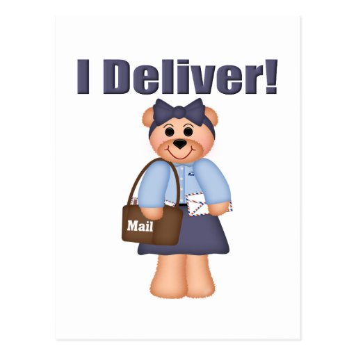 Letter Carrier Postcard