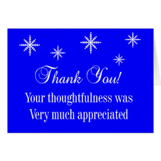 Letter Carrier Thank You Notecards Greeting Cards