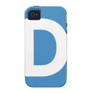 Letter D - emoji Twitter iPhone 4/4S Case