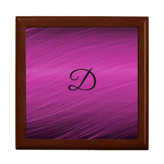 Letter D Large Square Gift Box