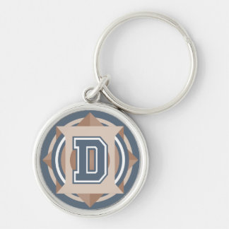 "Letter ""D"" Initial Key Ring"
