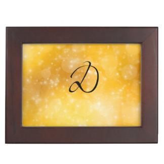 Letter D Memory Boxes