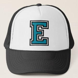 """Letter """"E"""" Monogram Trucker Hat"""